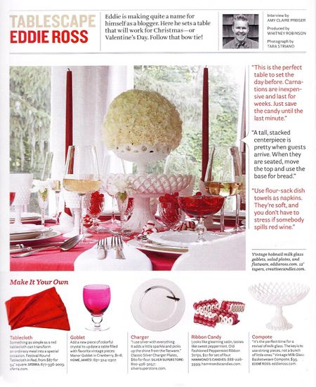 The How To for Eddie's Fab Table