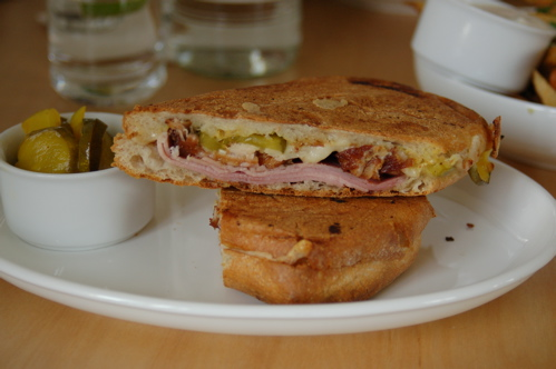 My Cubano, With Those Homemade Pickles