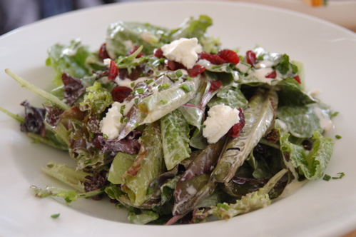 Tami's Salad With Goat Cheese and Cranberries