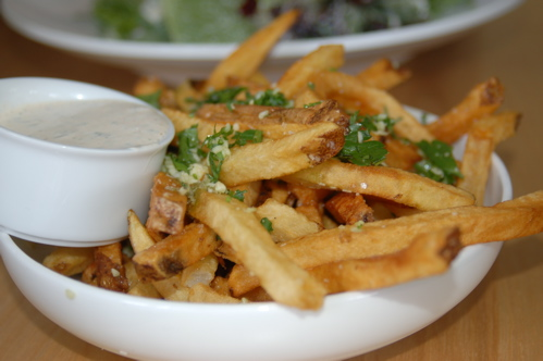 The Oh So Bad For You, But Taste So Good Garlic Fries
