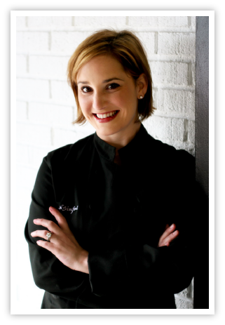 Lovely Chef Layne (photo from Sweet N' Simple website)