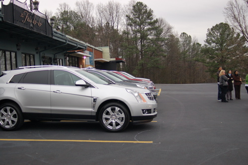 Our Sophisticated Rides For The Day - 2010 Cadillac SRX!