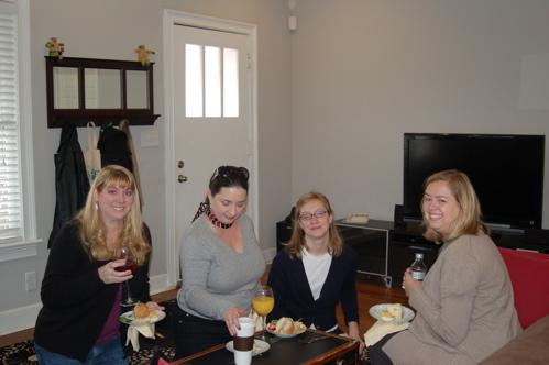 Wendy, Susan, Katie & Jennifer