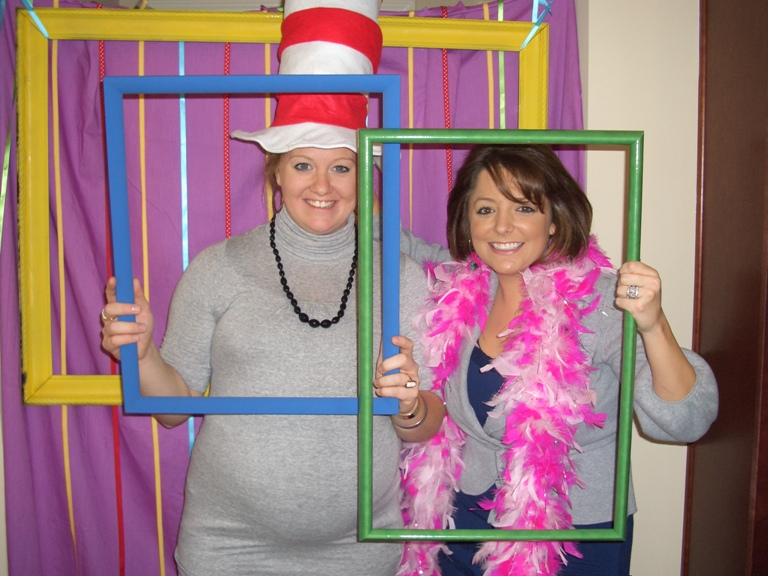 Dr. Seuss Photo Booth Frame 768 x 576