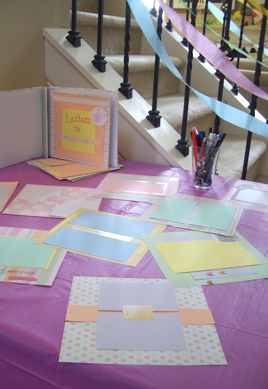 Baby Shower Scrapbook Pages Part - 48: Another ...