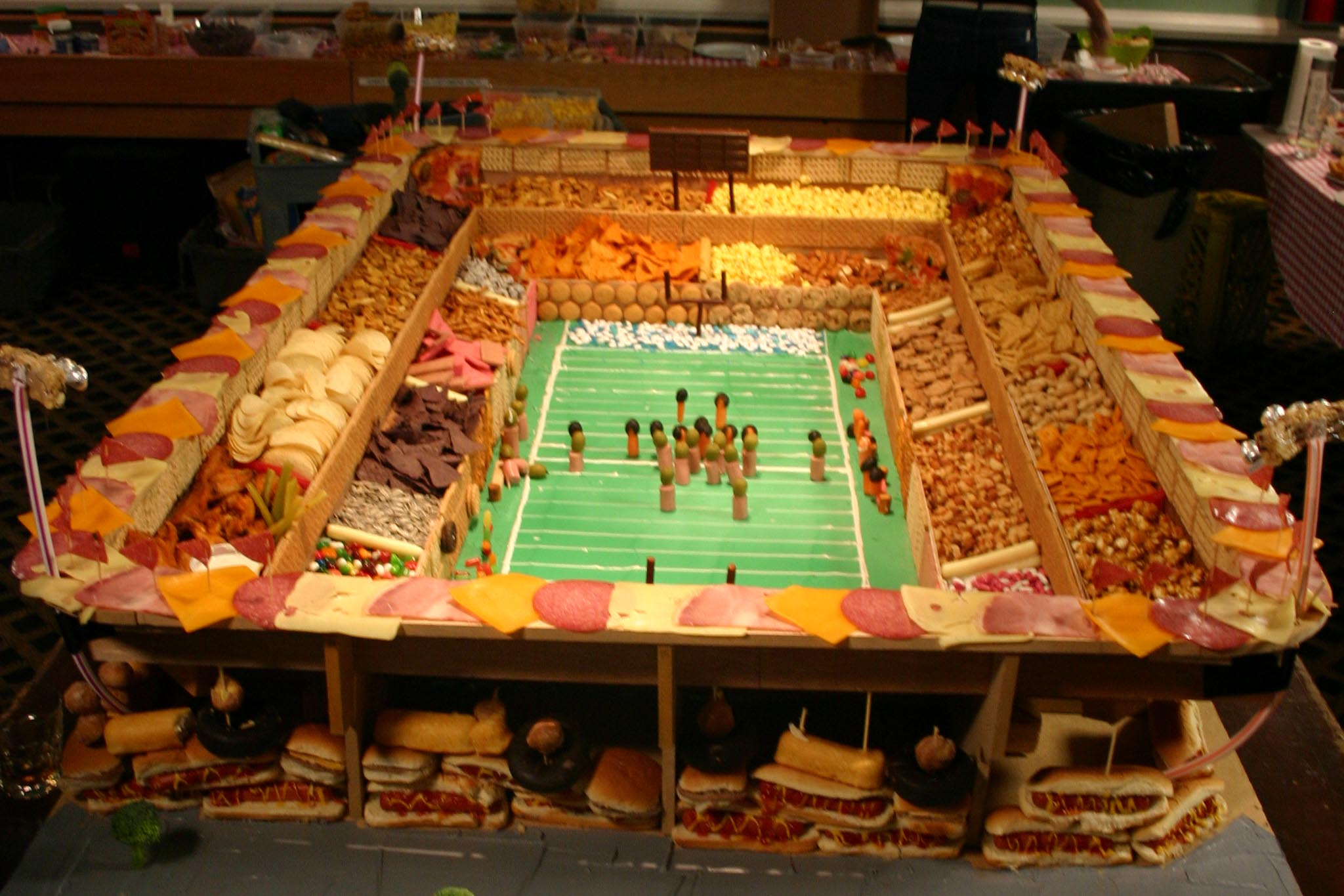 Superbowl Stadium Snacks Pictures To Pin On Pinterest
