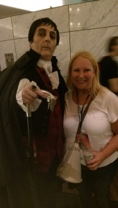 Barnabas and Me! BFFs. :)