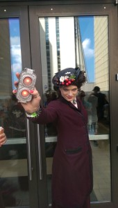 And speaking of Dr. Who....