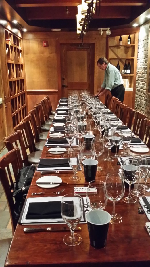 Simple Private Dining Room Atlanta.