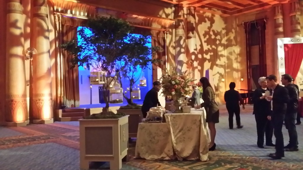 The Stunning Egyptian Ballroom