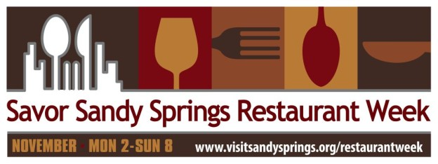 Savor Sandy Springs Restaurant Week